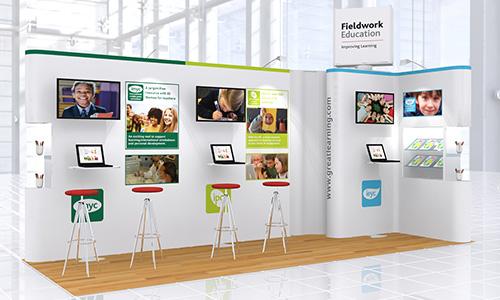 Exhibition Stand Design App : Messestand messebau berufsmesse zürich