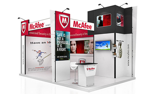 CeBIT Messestand Design