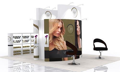 Exhibition Stand Design App : Messestand messebau beauty forum swiss zürich