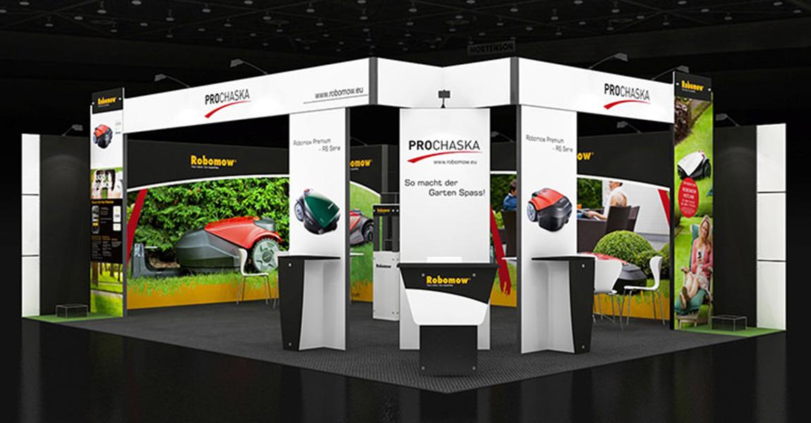 Exhibition Stand Design App : Messestand designs inkl preis messebau für ipm essen